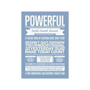 Autorský plakát Powerful Lavender, A3