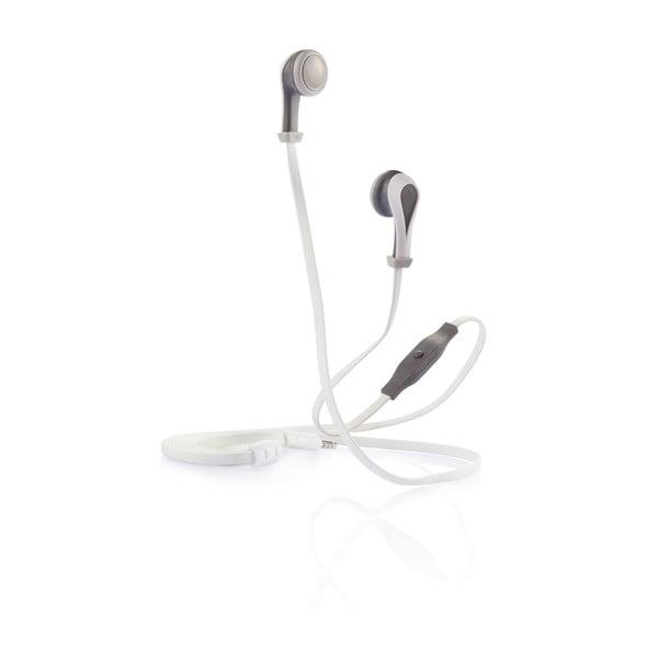Căști audio XD Design Oova Mic, gri/alb
