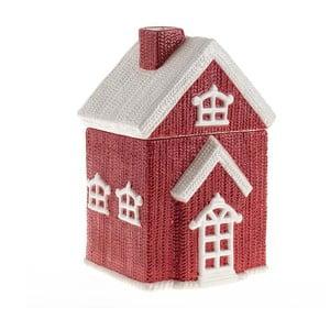 Dóza na sušenky House in Red