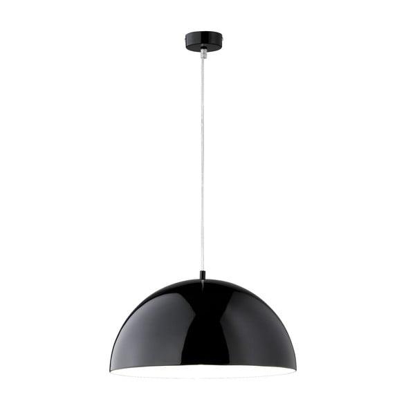 Závěsné světlo Bobby 40 cm, černé