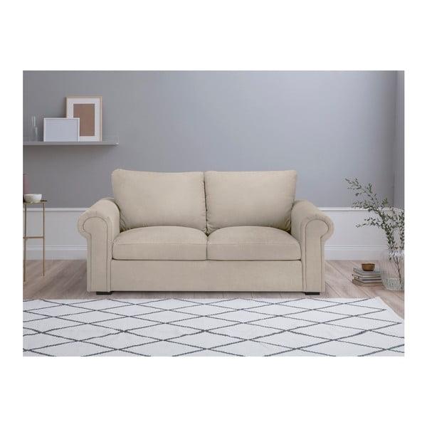 Béžová dvoumístná pohovka Windsor & Co Sofas Hermes