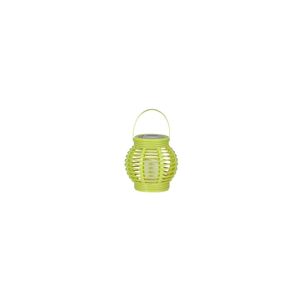 Zelená LED solární lucerna Best Season Home