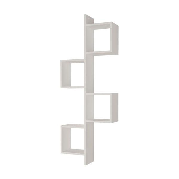 Raft de perete Homitis Cling, alb