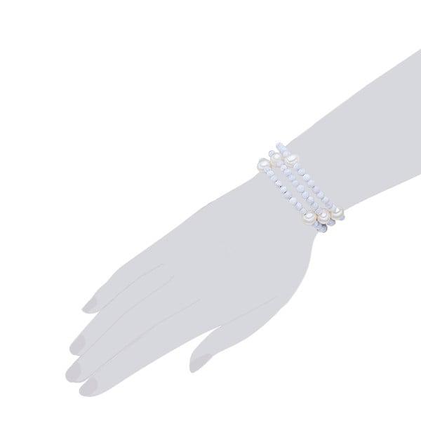 Perlový náramek Nova Pearls Copenhagen Fione