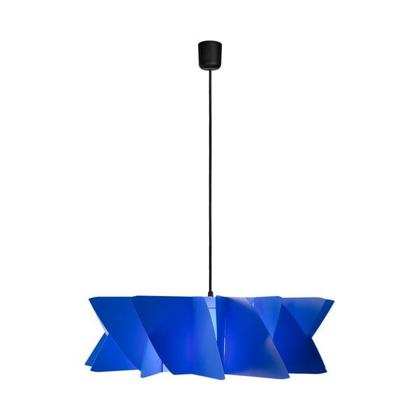 Závěsné svítidlo Diamond blue/black