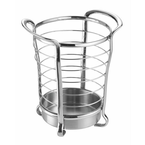 Suport pentru ustensile de bucătărie InterDesign Axis Round