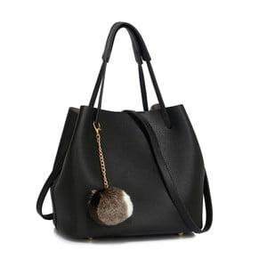 Černá kabelka L&S Bags Vesinet