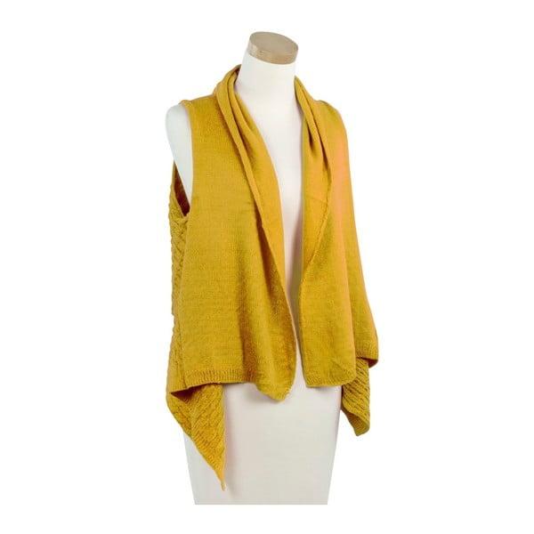 Žlutá pletená vestička Ginny
