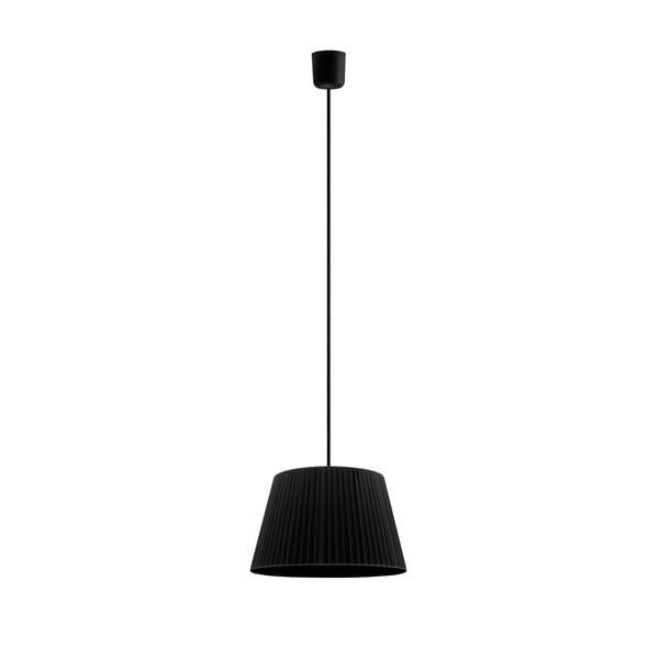Černé závěsné svítidlo Sotto Luce KAMI,Ø36cm