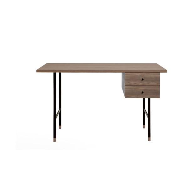Jugent Walnut íróasztal - Woodman