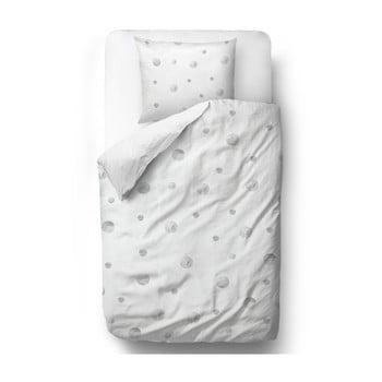 Lenjerie de pat din bumbac satinat Butter Kings Watercolour Spots, 200 x 200 cm