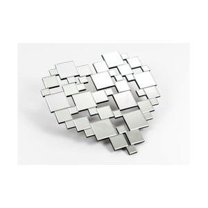 Zrcadlová dekorace Destructed Heart