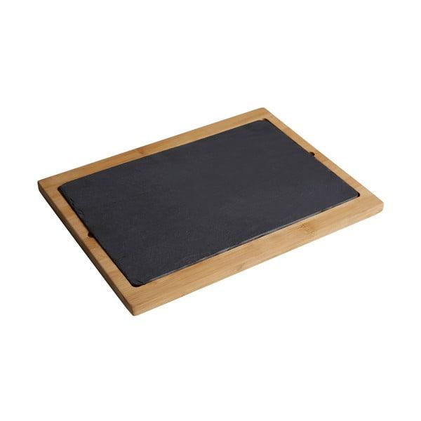 Servírovací prkénko z akáciového dřeva Premier Housewares Acacia, 34 x 25 cm