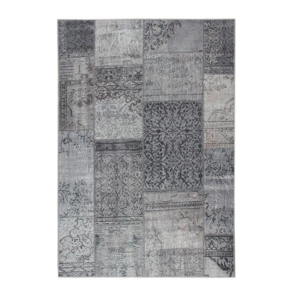 Šedý koberec Eko Rugs Esinam, 75x150cm