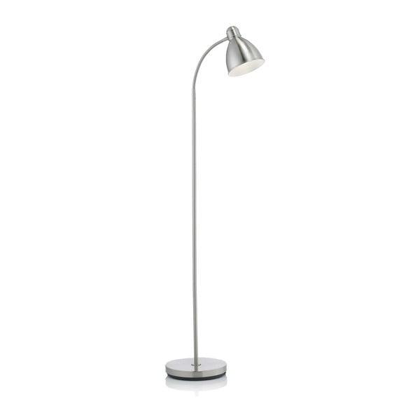 Voľne stojacia lampa v striebornej farbe Markslöjd Nitta
