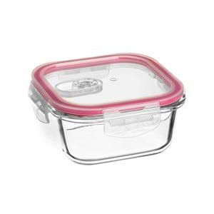 Obědový box ze skla s uzávěrem Unimasa, 520 ml