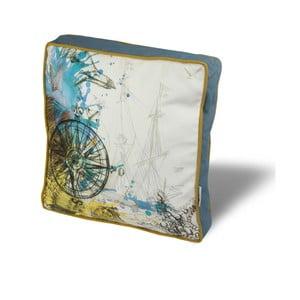 Pernă pentru scaun Gravel Arto II, 42 x 42 cm,  cu umplutură