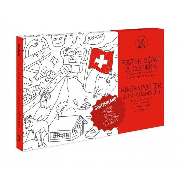 Omalovánka OMY Switzerland (70 x 100 cm)