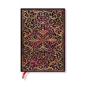 Linkovaný zápisník s měkkou vazbou Paperblanks Aurelia, 13x18cm