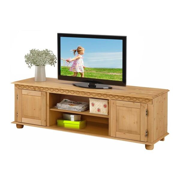 TV stolek z borovicového dřeva Støraa Seattle