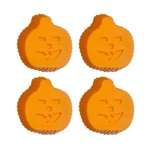 Set 4 forme din silicon pentru copt Premier Housewares Pumpkin