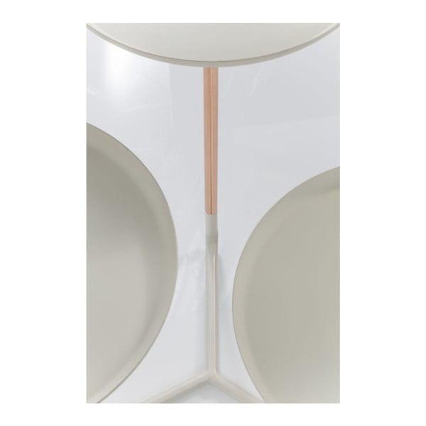 Bílý příruční stolek Kare Design Trio