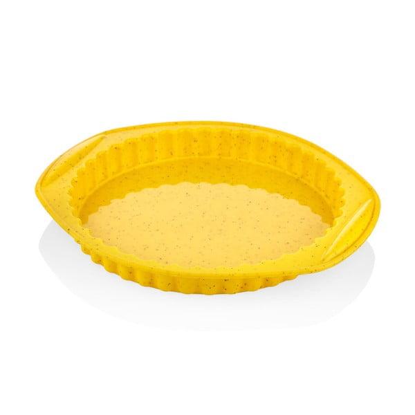 Žlutá silikonová pečící forma The Mia Maya, ⌀ 30 cm