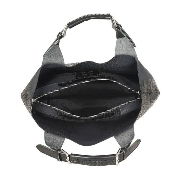 Kožená kabelka Luxury Italia, černá
