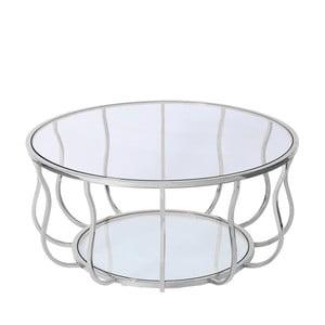 Konferenční stolek ve stříbrné barvě Artelore Iris