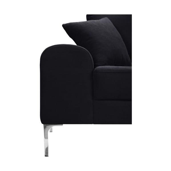 Canapea cu 2 locuri Corinne Cobson Dillinger, negru