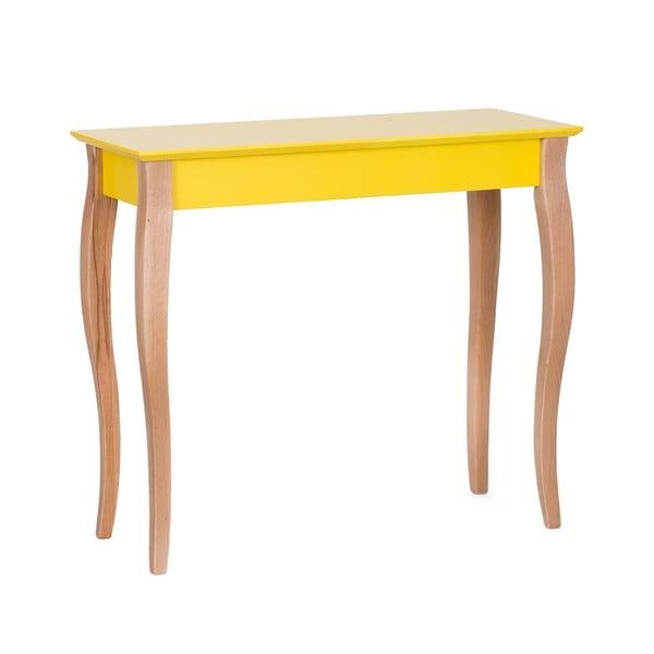 Console sárga kisasztal, hossza 85 cm - Ragaba