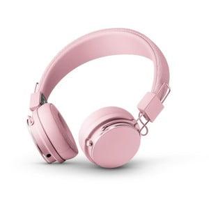 Světle růžová bezdrátová Bluetooth sluchátka s mikrofonem Urbanears PLATTAN II BT Powder Pink
