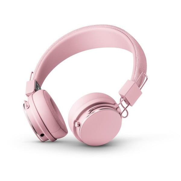 Căști audio Bluetooth cu microfon Urbaneras PLATTAN ll BT Powder Pink, roz
