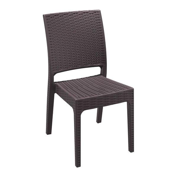 Židle Florida, hnědá