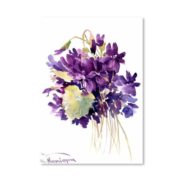 Plakát Wild Violets od Suren Nersisyan