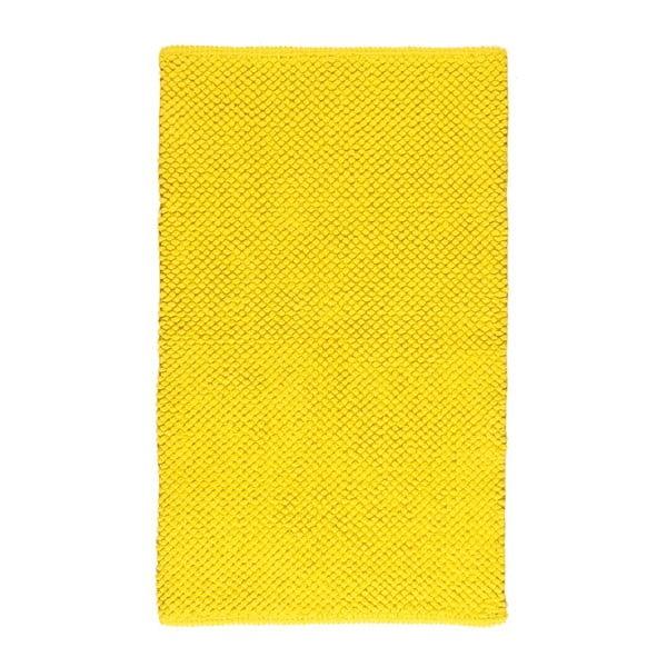 Koupelnová předložka Dotts Yellow, 60x100 cm
