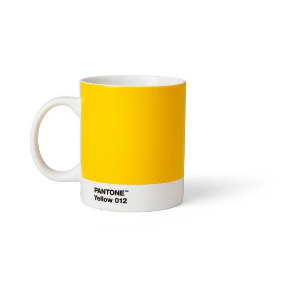 Žltý hrnček Pantone, 375 ml