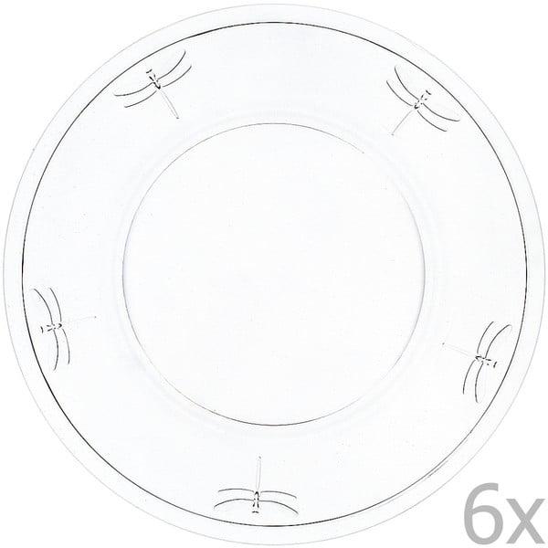 Set 6 fafrfurii Libellules, 32 cm