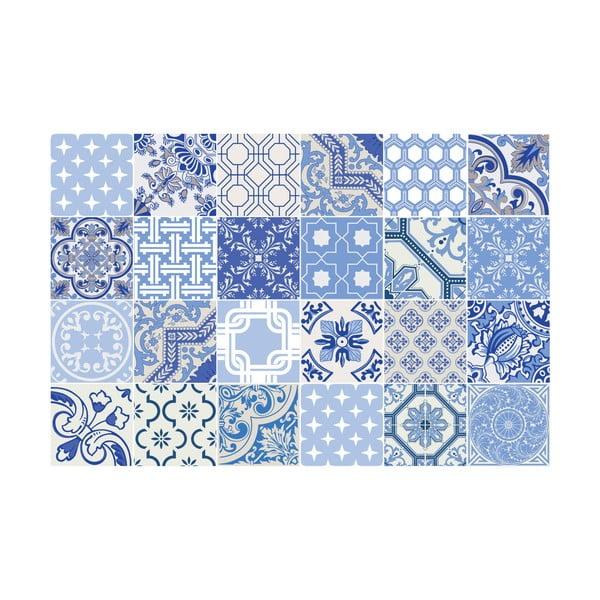 Oceana 24 részes dekorációs falmatrica szett, 10 x 10 cm - Ambiance