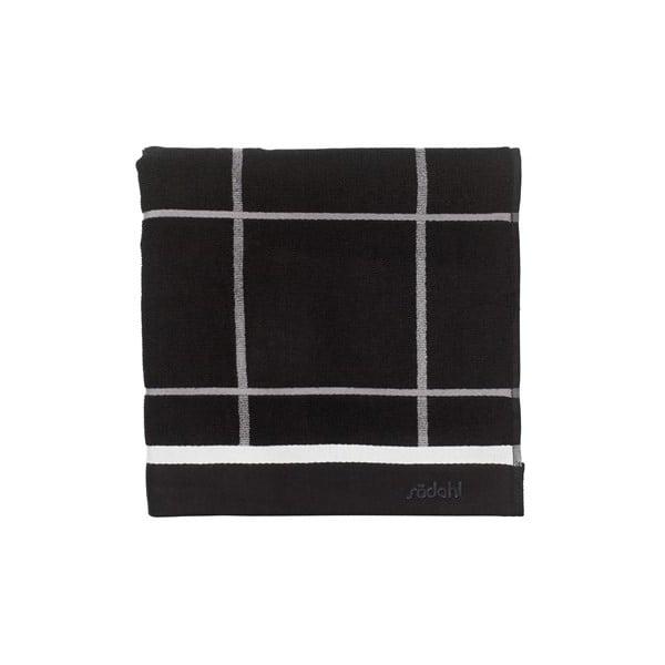 Ručník Steward Black, 70x140 cm