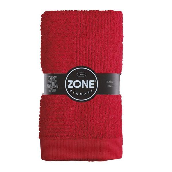 Ručník 100x50 cm, červený