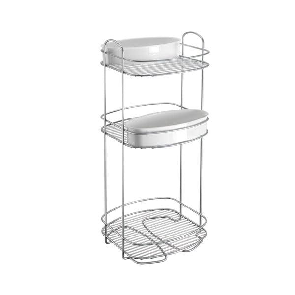 Buttler háromszintes fürdőszobai állvány, magasság 65 cm - Metaltex