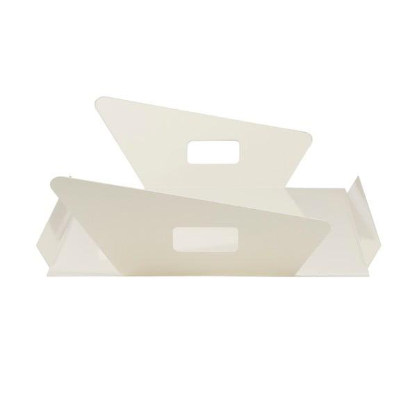Kovový podnos Gie El 60x33 cm, bílý