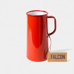 Červený smaltovaný džbán Falcon Enamelware TriplePint, 1,704 l