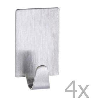 Set 4 cârlige din oțel inoxidabil Wenko Hooks de la Wenko