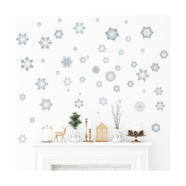Vánoční samolepka Ambiance Snowflakes