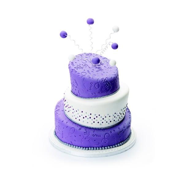 Silikonová zdobící podložka Happy Birthday, 50x50 cm