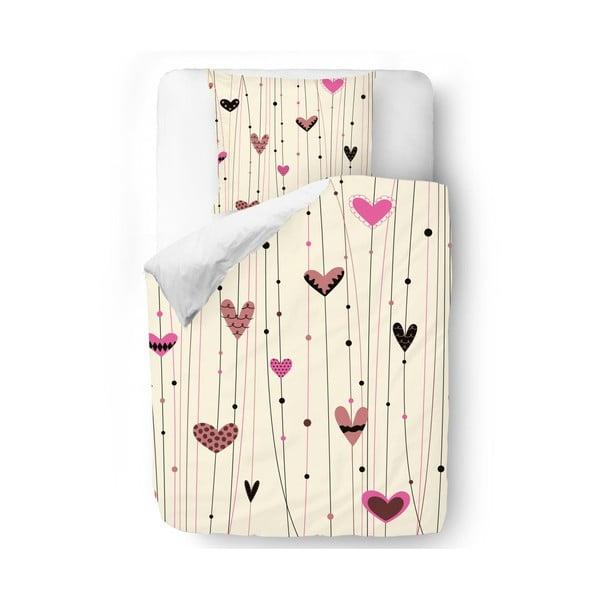 Povlečení Heart on String, 140x200 cm