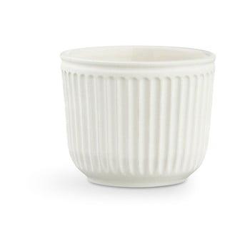 Ghiveci din ceramică Kähler Design Hammershoi Flowerpot, ⌀ 11 cm, alb de la Kähler Design