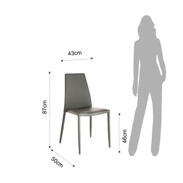 Židle Tomasucci Lion, šedá